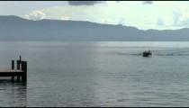 Speed Boat Lake Pier