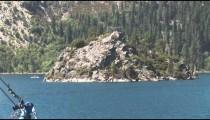 Rock House in Emerald Bay