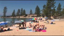 Sand Harbor Beach pan