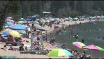 Sand Harbor Beach People