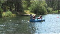 Rafters in River