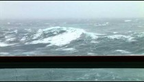 Rough Sea from Balcony