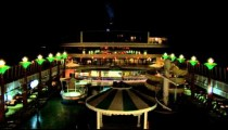 Cruise Ship Midship at Night zoom