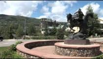 Avon Roundabout Cowboy Statue