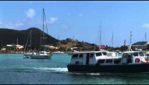 Marigot Harbor Boats pan