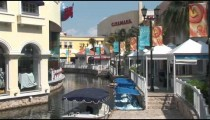 Cancun Mall Canal zooms