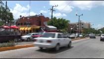 Cancun City Traffic