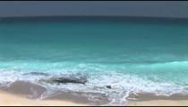 Cancun Beach Surf overhead