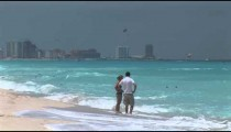 Cancun Beach Couple