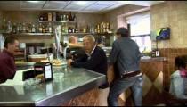 Cadiz Bar Cafe People Interior pan