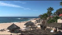 Cabo Resort Beach overhead
