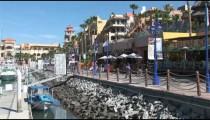 Cabo Marina Cafes Walkway