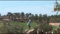 Cabo Girl Golfer