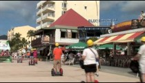 Philipsburg Oceanwalk Segway Tourists