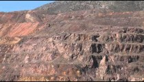 Bisbee Copper Mine cu zoom