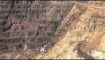 Bisbee Copper Mine Road cu zoom