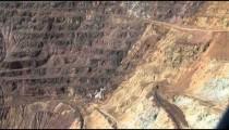 Bisbee Copper Mine Ridge cu zoom