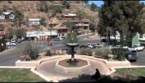 Bisbee City Park Fountain zooms