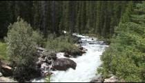 Mountain Lake Stream Falls