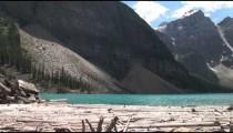 Moraine Lake Log Jam pan zoom