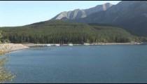 Lake Minnewanka zoom