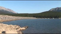 Lake Minnewanka Dam zoom 2