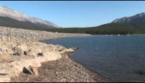 Lake Minnewanka Dam zoom