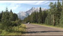 Lake Minnewanka Drive Car