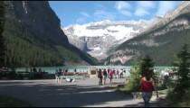 Lake Louise Tourists