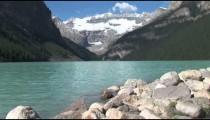 Lake Louise Rocky Shore 2