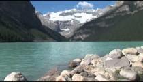 Lake Louise Rocky Shore 2
