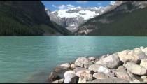 Lake Louise Rocky Shore