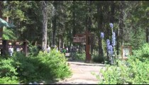 Johnston Canyon Trail People