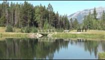 Johnson Lake Footbridge zoom 2