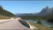 Highway 1 Bow River zoom
