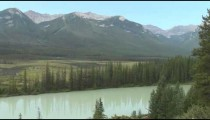 Bow Riverand Mountains