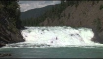 Bow River Falls zoom
