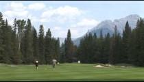 Banff Woman Golfer