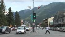 Banff Traffic Crosswalk