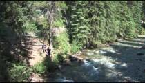 Banff Streamside Hikers