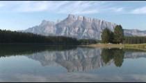 Banff Quiet Lake zoom