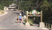 Banff Hot Springs zooms