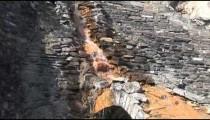 Banff Hot Springs Waterfall zoom