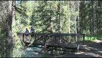 Banff Hiker's Bridge