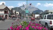 Banff City Intersection
