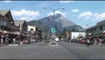 Banff City Crosswalk