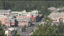 Banff City Center overhead