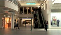 Shopping Mall Wing People
