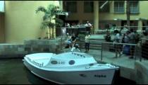 Hotel Shuttle Boat Arrives pan