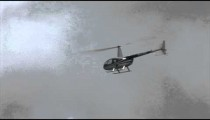 Helicopter Fly By cu